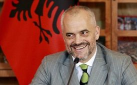 албанский премьер Эди Рама