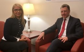 К хозяину на поклон: Тимошенко в США на встречу с Волкером и не только