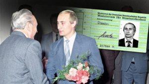 В архивах найдено удостоверение Штази на имя Путина