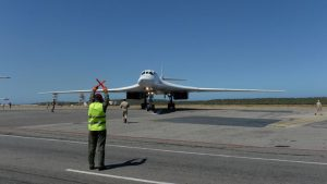 российский самолет Ту-160 в Венесуэле