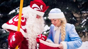 Для малышей Таллина Русский центр провёл новогодние ёлки