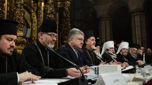 Порошенко объявил о создании Украинской поместной православной автокефальной церкви
