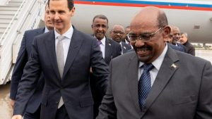 Президент Судана посетил Дамаск впервые после начала сирийской войны