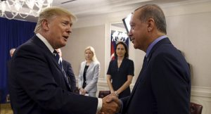 встреча Трампа и Эрдогана