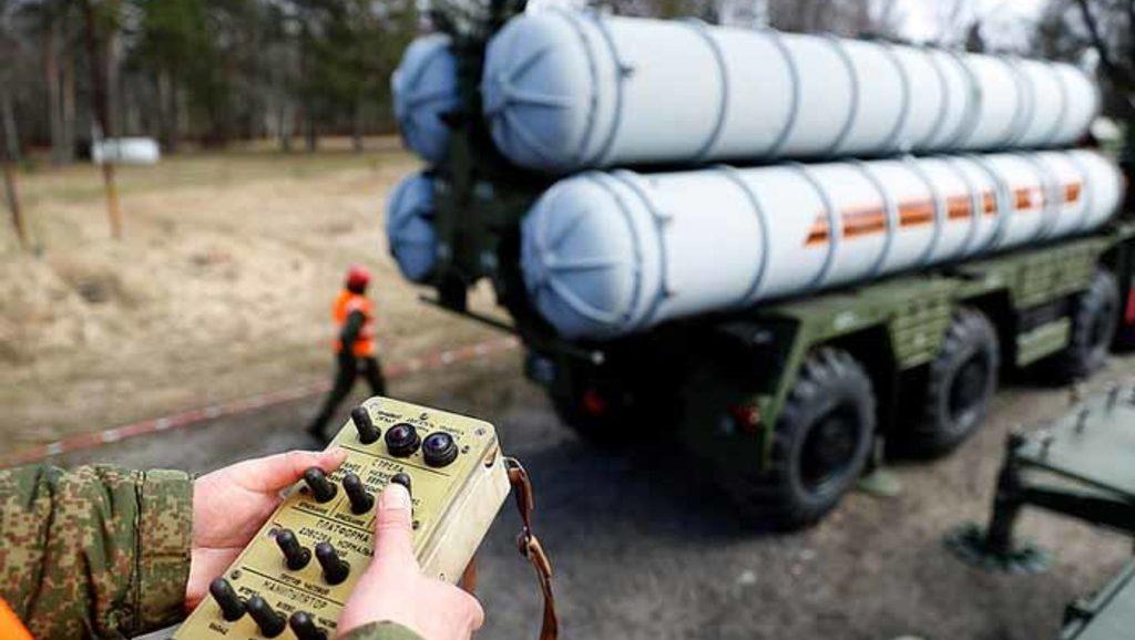 "ЗРС ПВО С-400 ""Триумф"""
