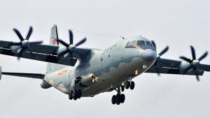 китайский самолет Shaanxi Y-9