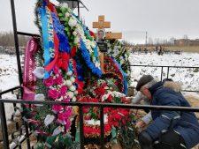 В Северодвинске состоялось прощание с убитым в львовской колонии добровольцем Валерием Ивановым