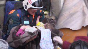 обвал дома в магнитогорске, спасен ребенок