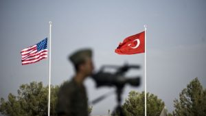 военные флаги США Турция