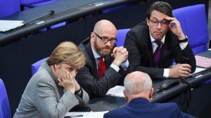 меркель совещание парламент