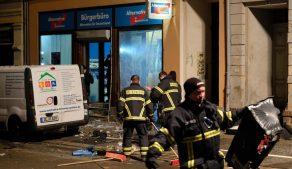 взрыв у офиса партии Альтернатива для Германии