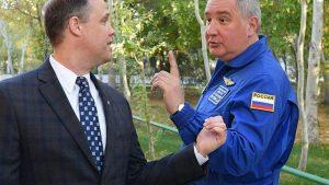 Срыв визита Рогозина ставит под угрозу космические проекты США и РФ