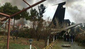 самолет Boeing 707 катастрофа в Иране