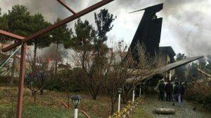 В аэропорту недалеко от Тегерана разбился самолёт