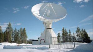 китайская спутниковая станция в Кируне, Швеция