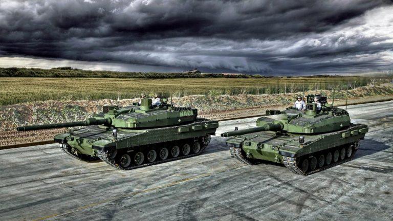 Прототипы турецкого танка Altay в базовой комплектации