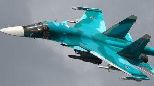 На Дальнем Востоке столкнулись два истребителя Су-34