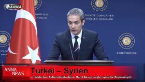 Die Türkei ist gegen die Einführung syrischer Truppen in Manbidsch || Schlagzeilen, 18. Januar 2019