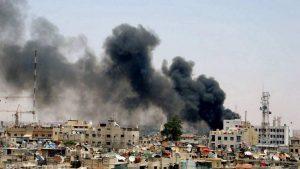 В пригороде Дамаска произошёл теракт