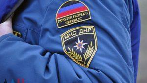 Спасатели ДНР провели учебные тренировки