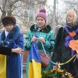 В Одессе в день соборности Украины состоялся флешмоб, направленный на скорейшее достижение мира и согласия в стране.