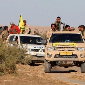200 курдских ополченцев перешли на сторону армии Сирии