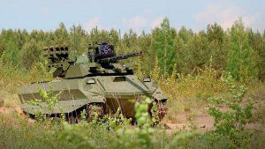 Боевой робот «Уран-9» принят на вооружение российской армии