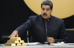 николас мадуро золото венесуэла