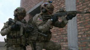 Передвижной пост полиции был обстрелян в Чечне
