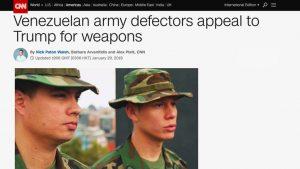 фейковые военные Венесуэлы на CNN