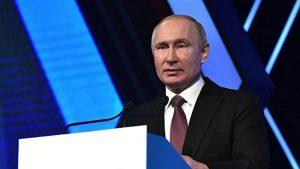 Владимир Путин выступил на форуме «Деловая Россия» (видео)