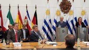 встреча Международной контактной группы (МКГР) в Монтевидео