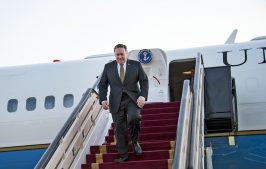 госсекретарь США Майк Помпео в турне