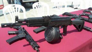 оружие, найденное в аэропорту Венесуэлы