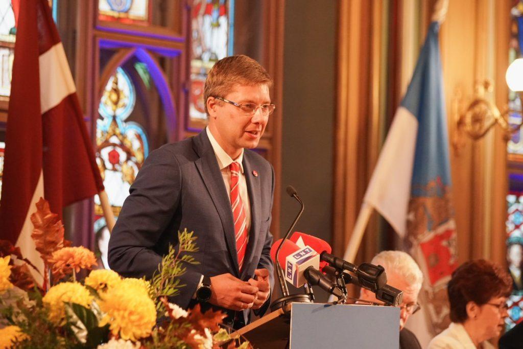 Русский мэр Риги гордится своей нацией