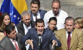 оппозиционер Хуан Гуаидо
