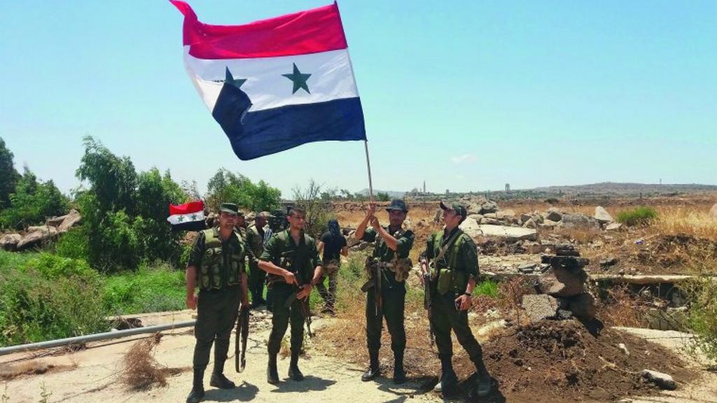 Сирия укрепляет границу с Израилем