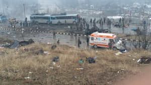 Террористы атаковали конвой полиции в штате Кашмир: 18 погибших