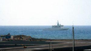 """Испанский военный патрульный корабль """"Торнадо"""" у Гибралтара"""