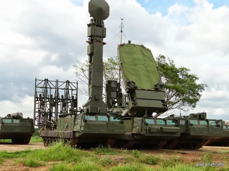 ЗРС С-300ВМ ПВО Венесуэлы