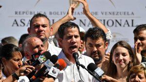 Гуайдо сам отправится к границе Венесуэлы за гуманитарной помощью США
