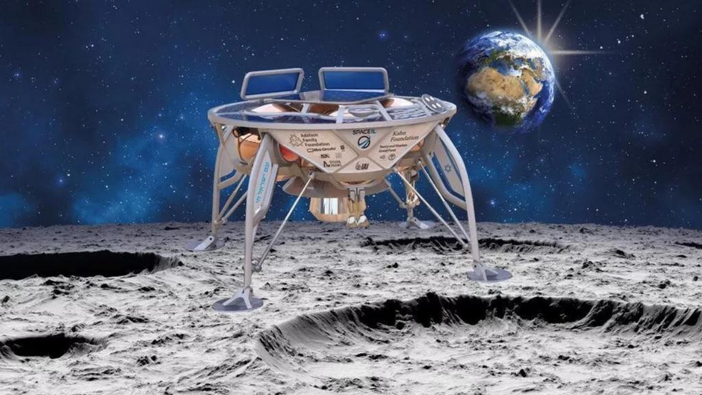 SpaceX запустила ракету Falkon 9 спервым израильским лунным зондом