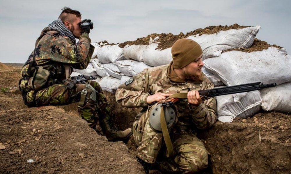 Донбасс. Оперативная лента военных событий 25.02.2019