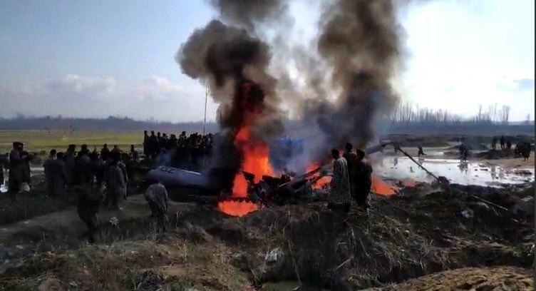 ПВО Пакистана сбили индийский вертолет