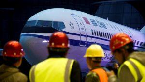 самолеты Боинг, лайнер Boeing 737 MAX