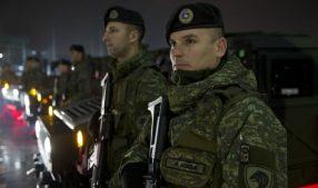 солдаты Армии Косово