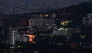 Каракас в темноте, блэкаут в Венсеуэле, 9 марта 2019 года