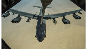 Со стороны Эстонии Ленинградскую область «брал на зуб» ядерный бомбардировщик ВВС США