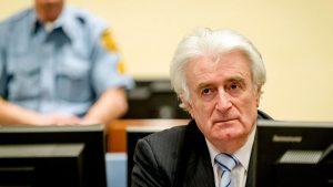 Осужденный трибуналом ООН лидер сербов Радован Караджич сделал обращение