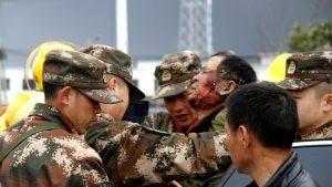 Техногенная катастрофа в Китае — более 600 пострадавших